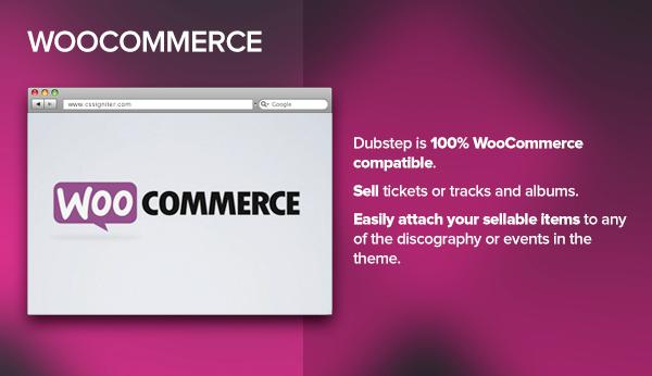 Dubstep - Premium Music WordPress Theme