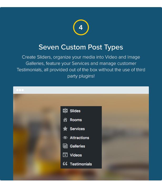 Mykonos Resort - Hotel Theme For WordPress - 5