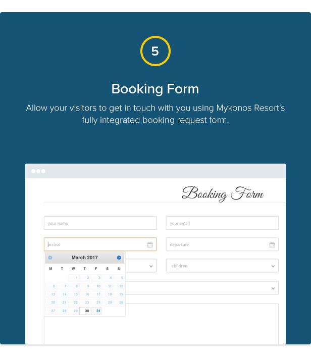 Mykonos Resort - Hotel Theme For WordPress - 6