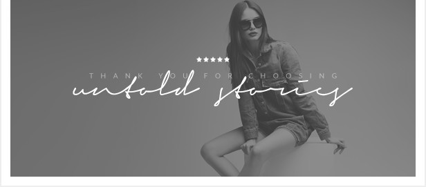 Untold Stories - The WordPress Blog Theme