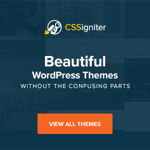 Wordpress 主題推薦:Cssigniter
