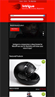 Screenshot of WooCommerce WordPress theme Intrigue on Smartphone