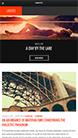Screenshot of Blogging WordPress theme Uberto on Smartphone