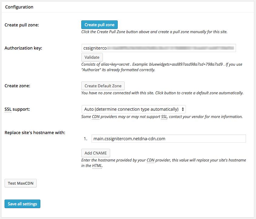 maxcdn-settings