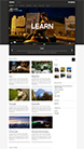 Screenshot of Video Blogging theme for WordPress Vidiho on Smartphone