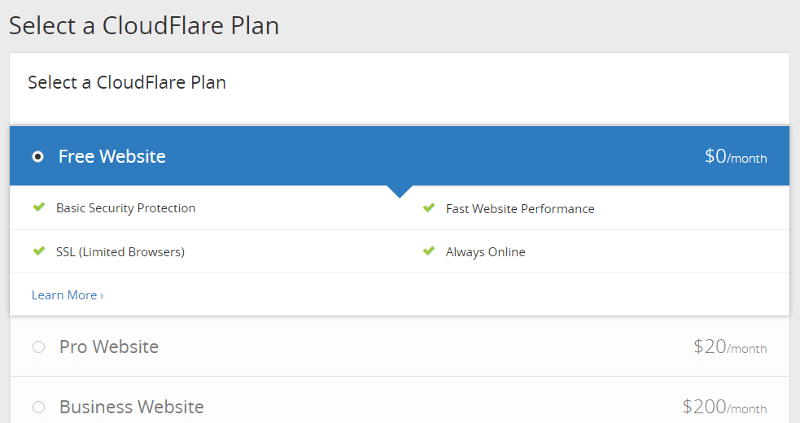 select-plan-cloudflare-cdn