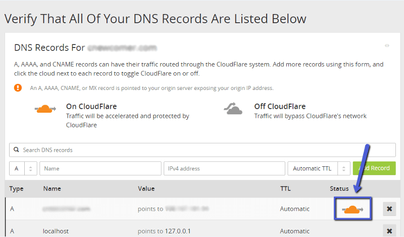 verify-dns-records-cloudflare-cdn