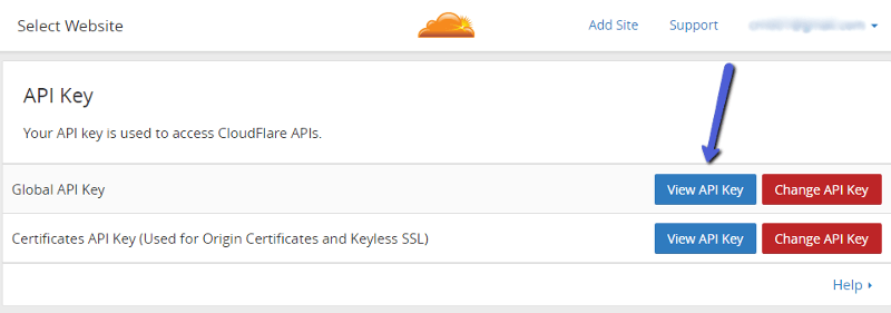 view-api-key-cloudflare-cdn