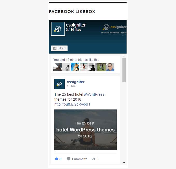 weblizar_widget