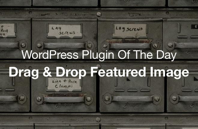 WordPress Plugin: Drag & Drop Featured Image