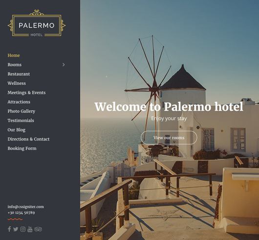 Palermo wordpress