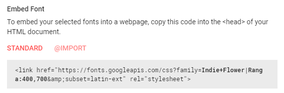 How to load Google Fonts in a child theme