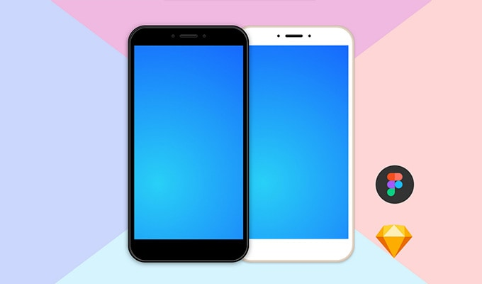 20 Best Free Android Phone Mockups - Photoshop & Sketch