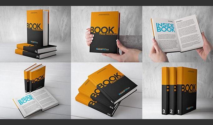 25 Best Free Book Mockups PSD • CSSIgniter