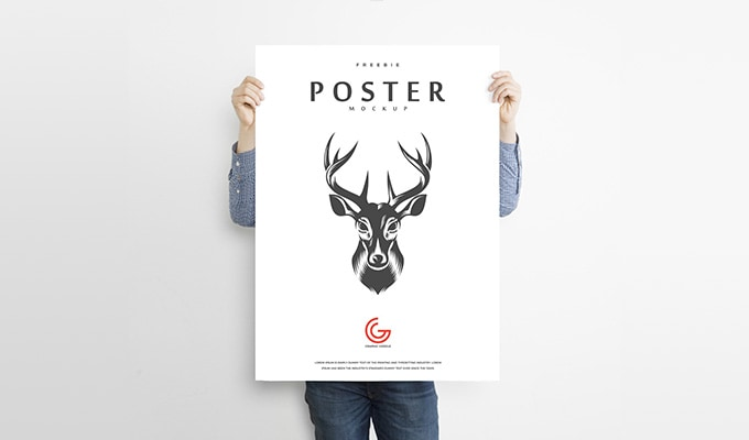 25 Free Realistic Wall Frame And Poster Mockups Psd Cssigniter