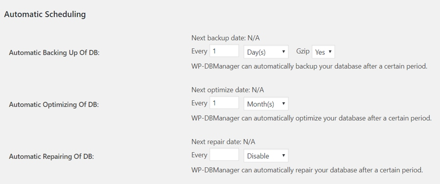 How To Optimize, Repair or Backup Your WordPress Database