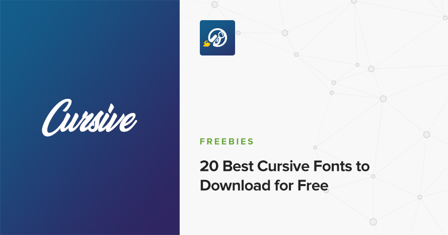 20 Best Cursive Fonts To Download For Free Cssigniter